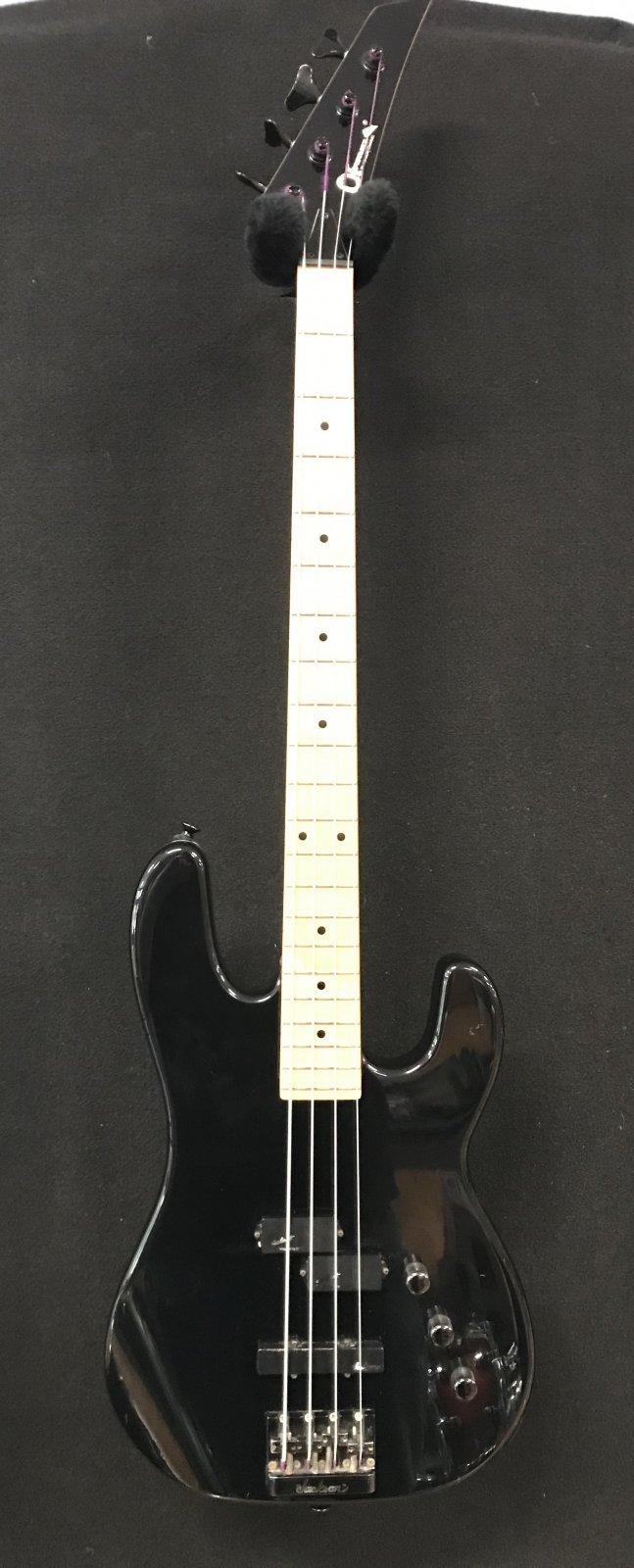 Used Charvel bass black