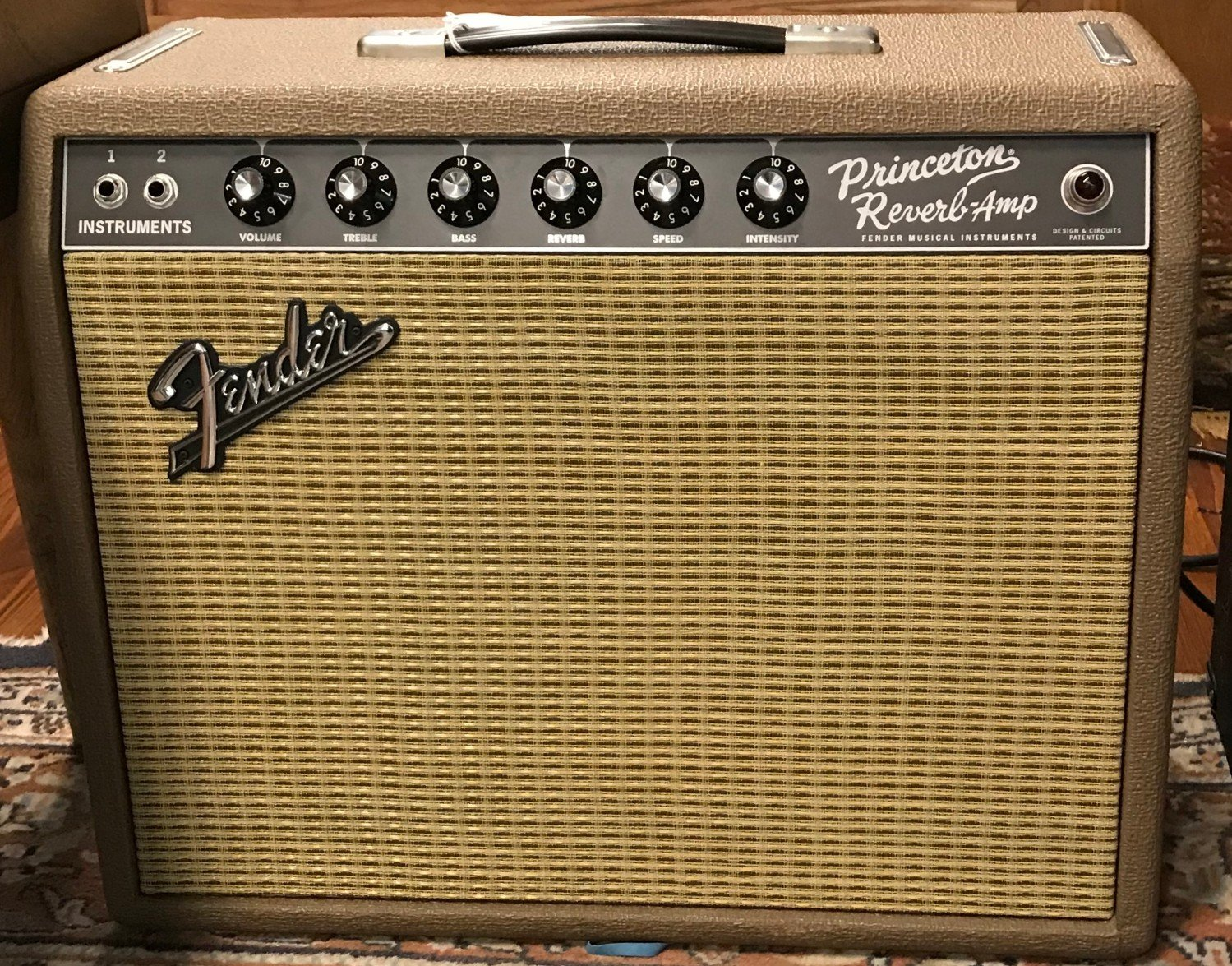 Used Fender Princeton recording amp limited edition