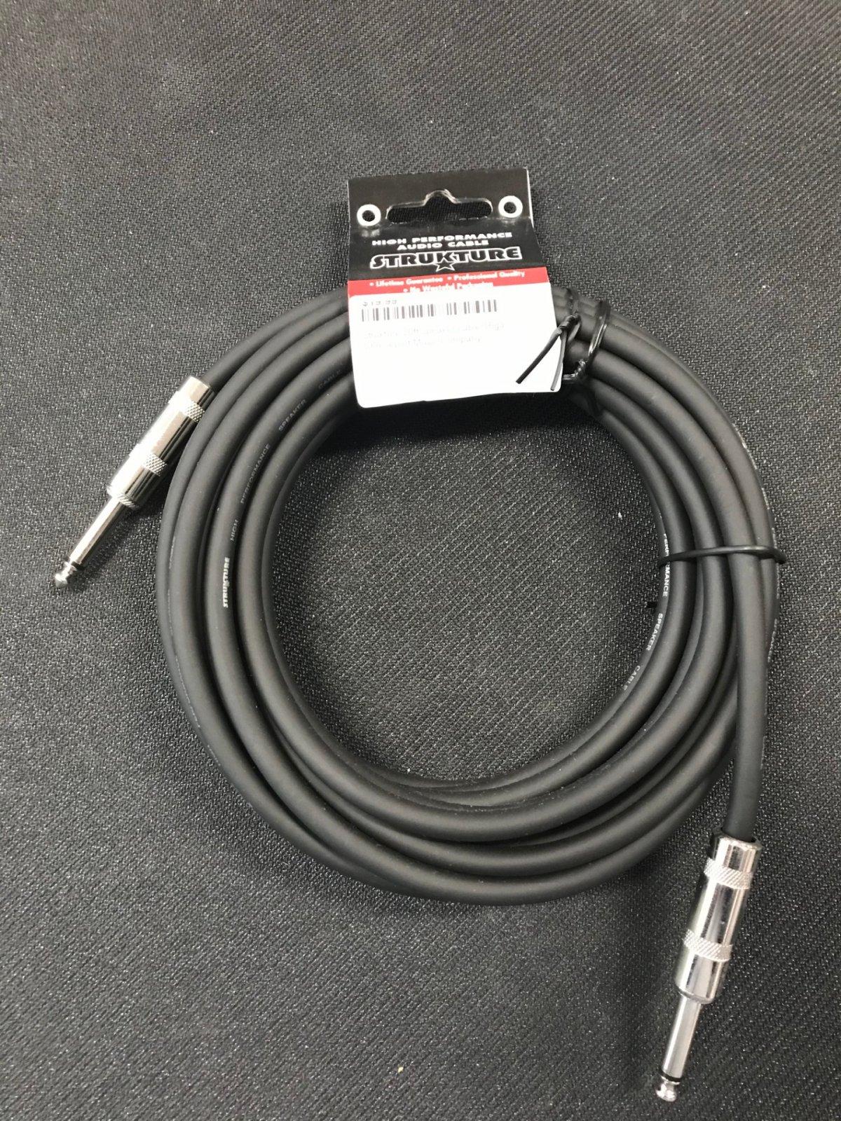 strukture 20ft speaker cable 16ga