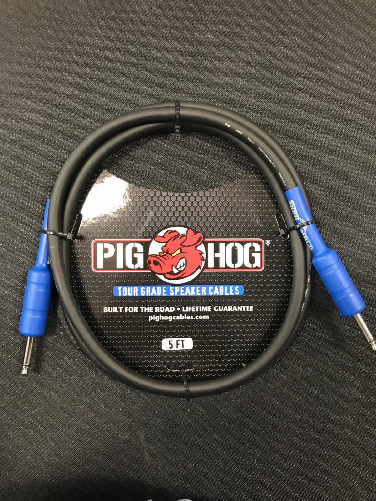 Pig Hog 8mm speaker cable 5ft 14ga