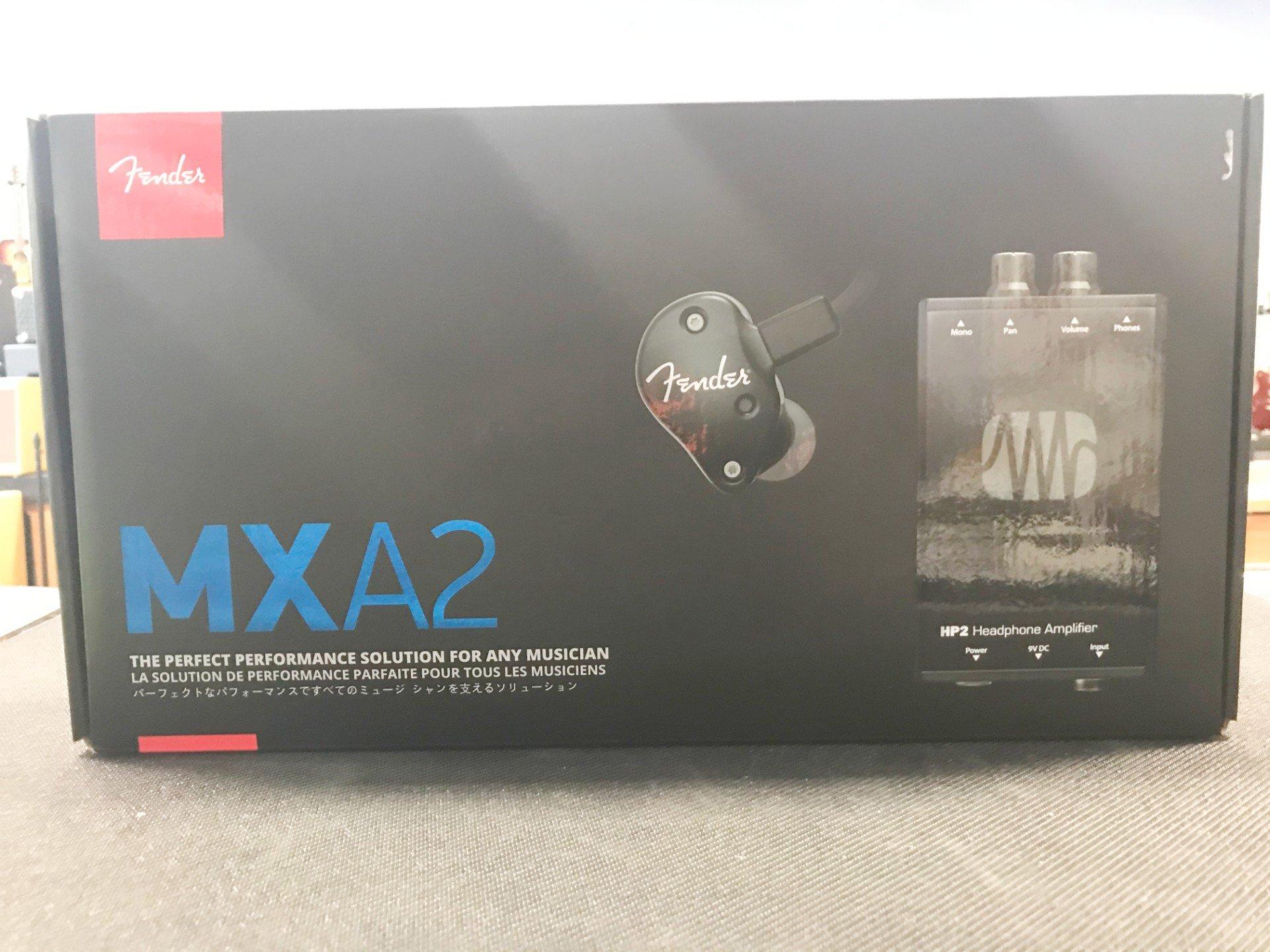 MXA2 Bundle - FXA2 (Black) Pro IEM W/ Presonus HP2 Headphone Amplifier