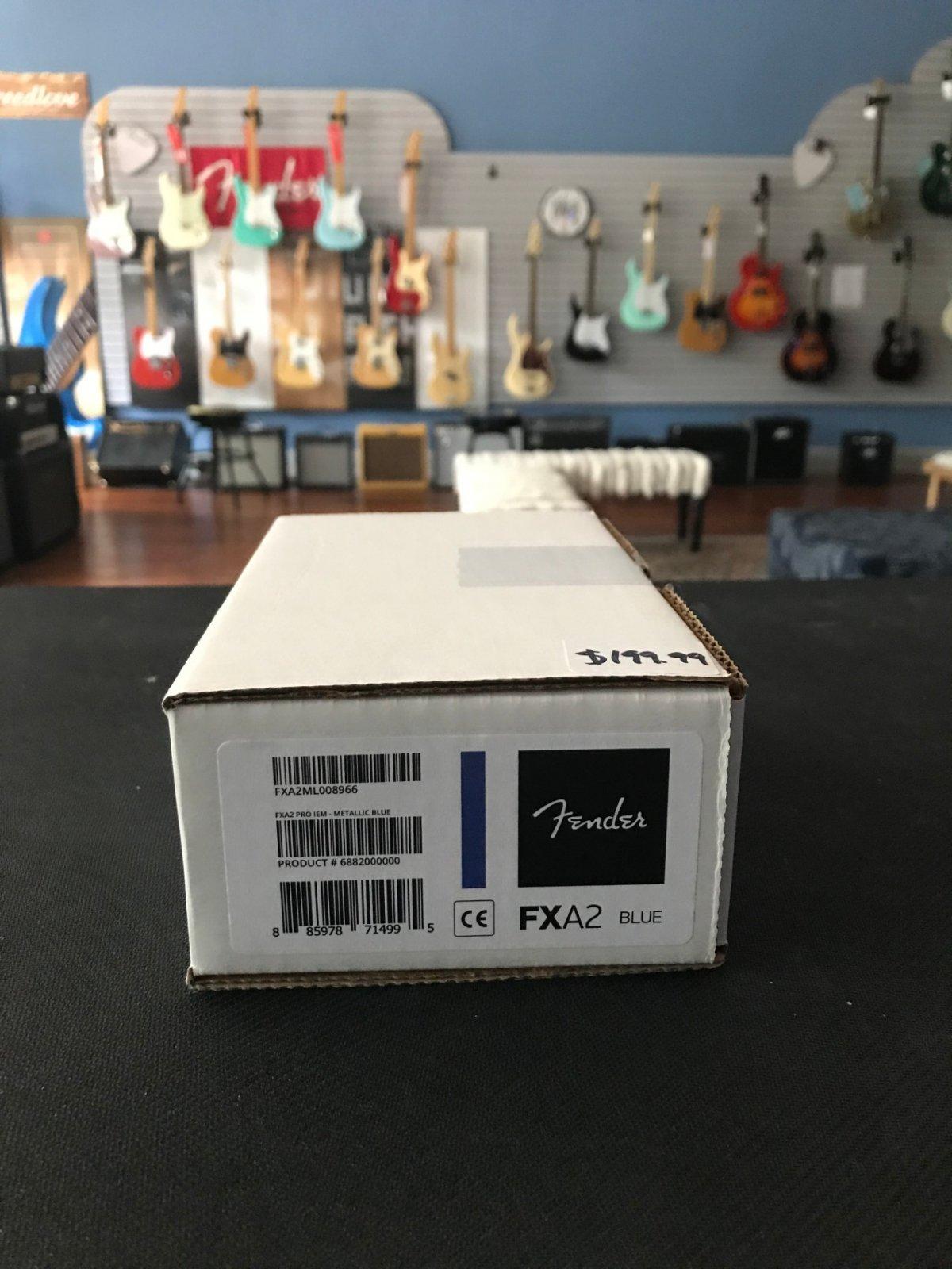 FXA2 Pro IEM - Blue