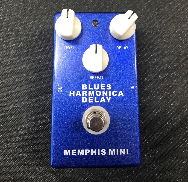 Memphis mini Blues harmonica delay