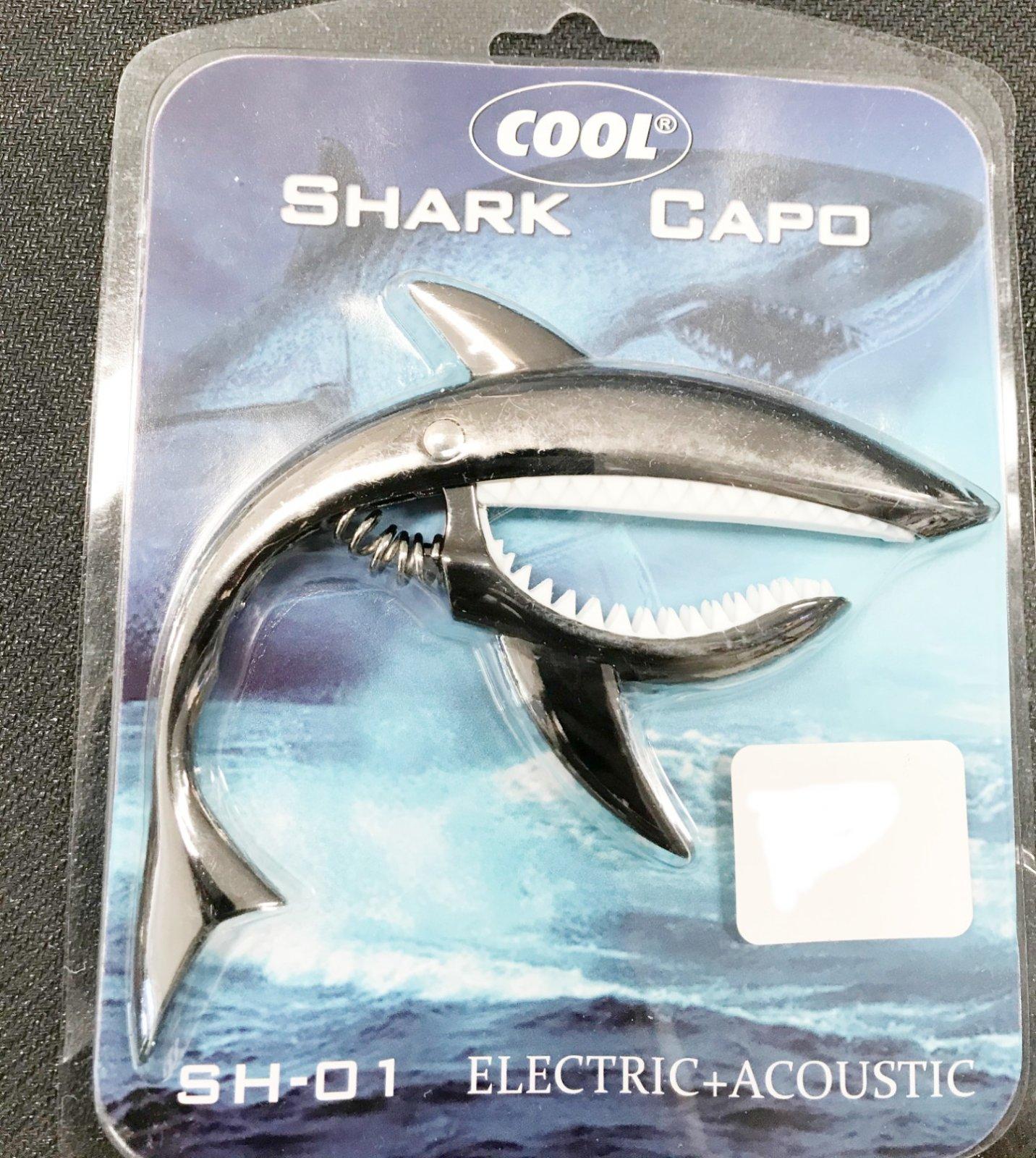 Cool shark capo
