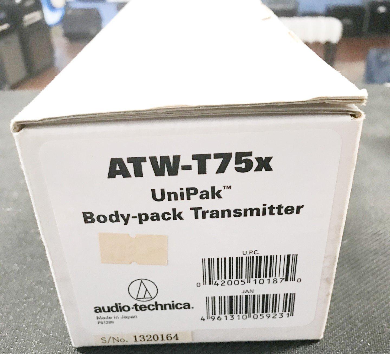 Audio Technica ATW-T75X unipak body transmitter
