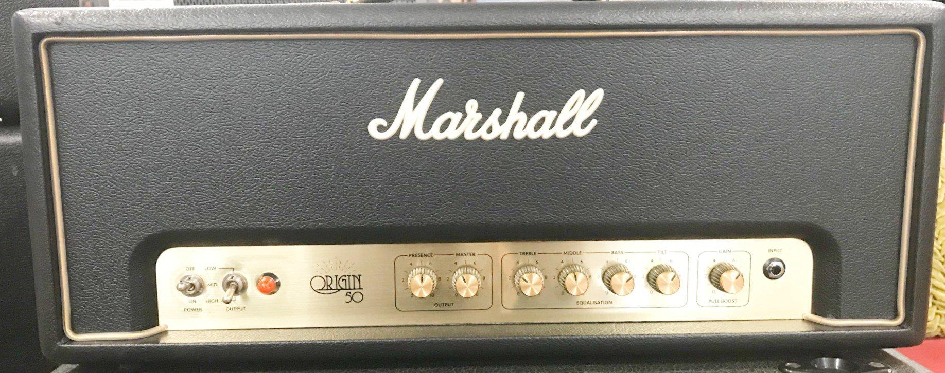 Used Marshall Origin 50 Head