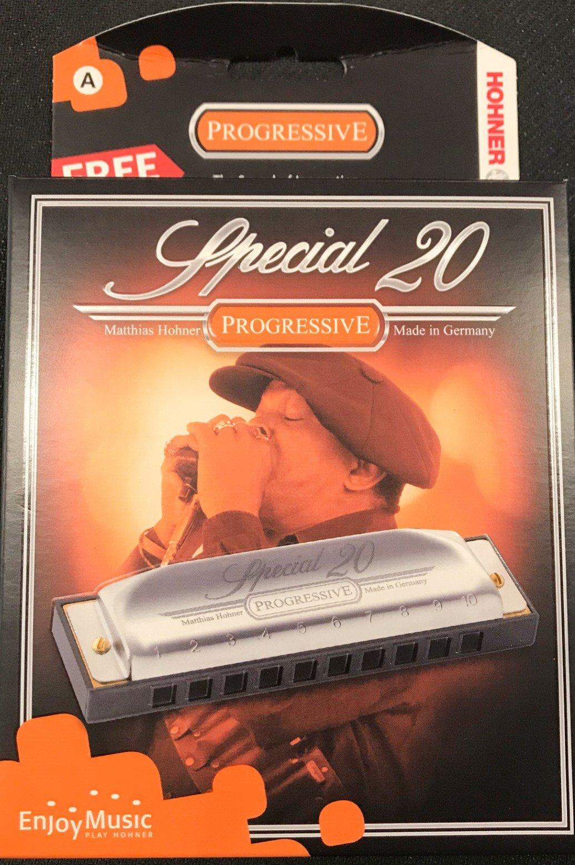 Hohner Harmonica special 20 key A