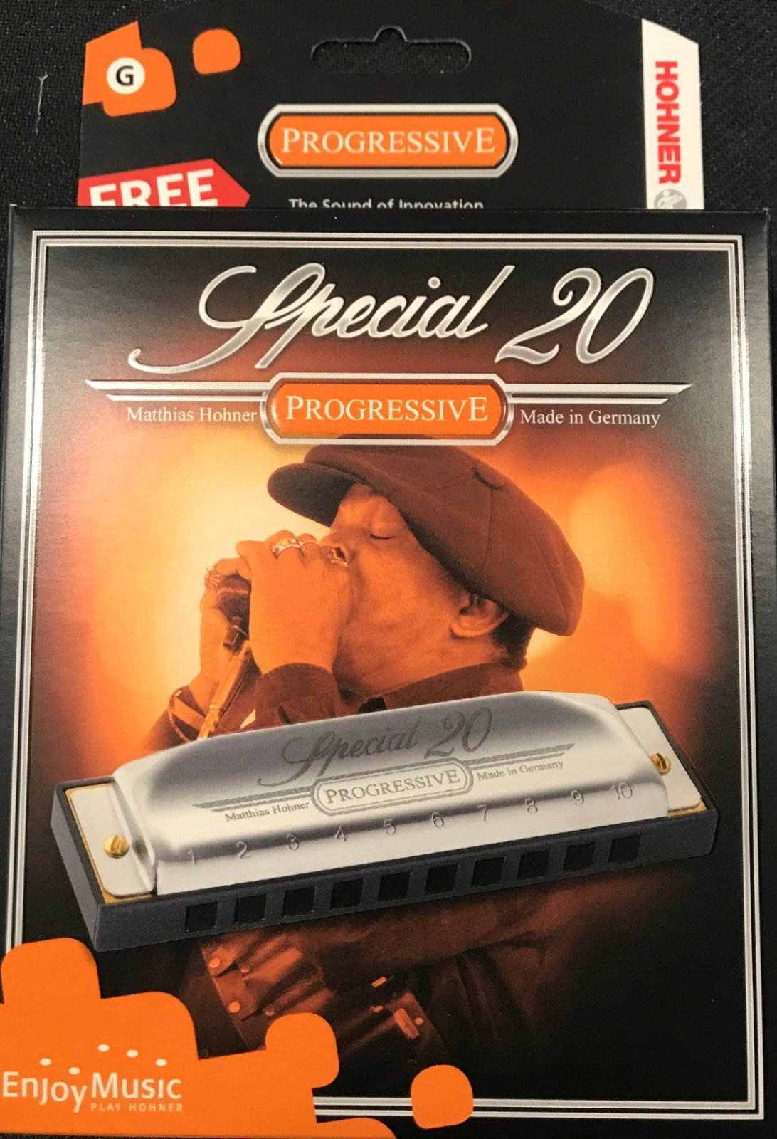 Hohner Harmonica special 20 key G