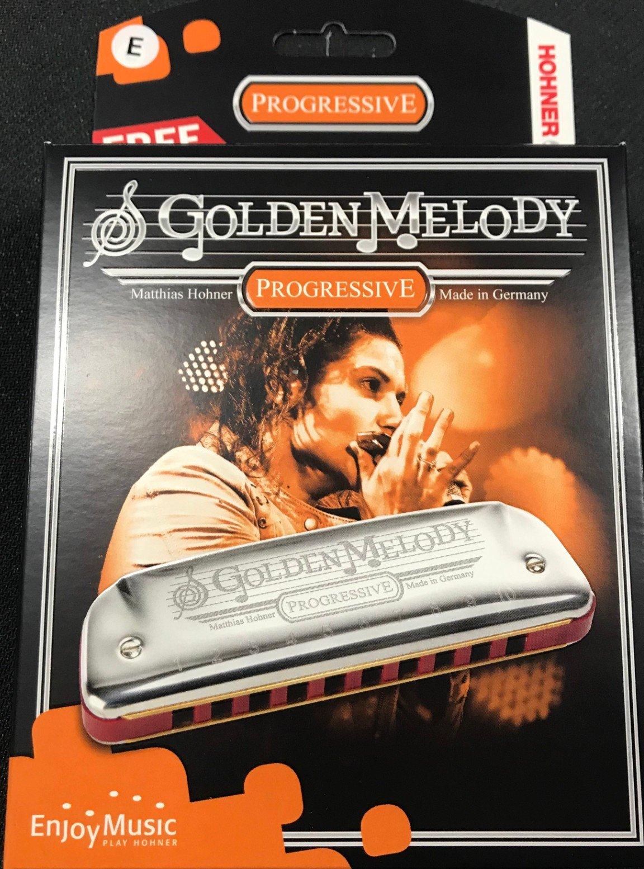Hohner 542 Golden Melody Harmonica E