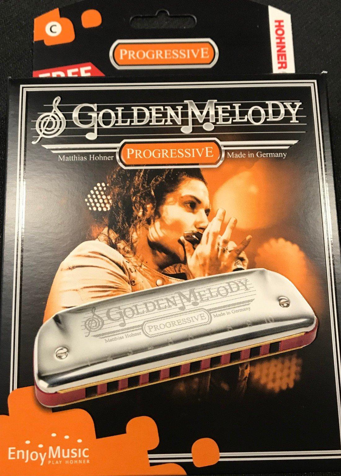Hohner harmonica golden melody key C