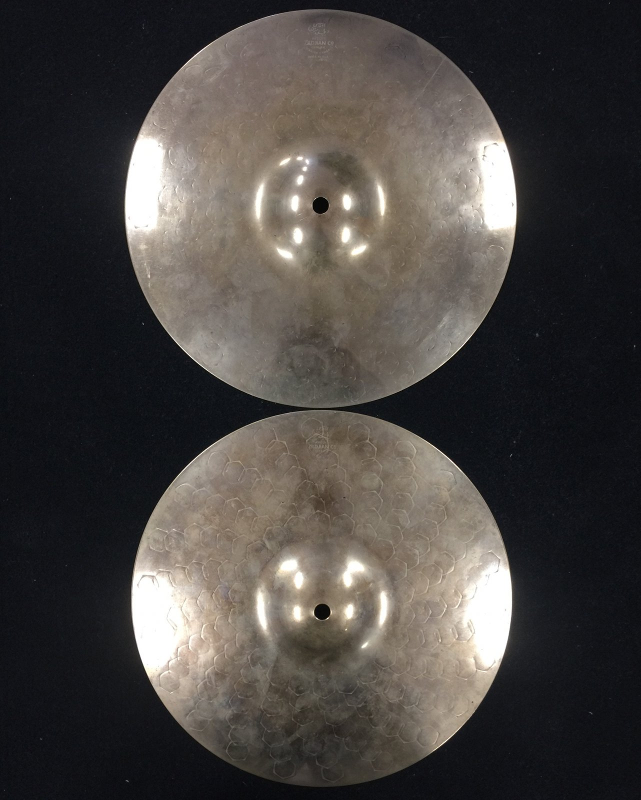 Used Z-Custom 14 Hi Hat Pair, Dyno Beats