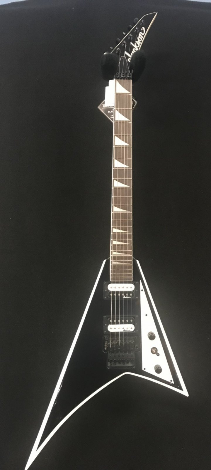 Jackson JS32 Randy Rhoads Black/white bevels