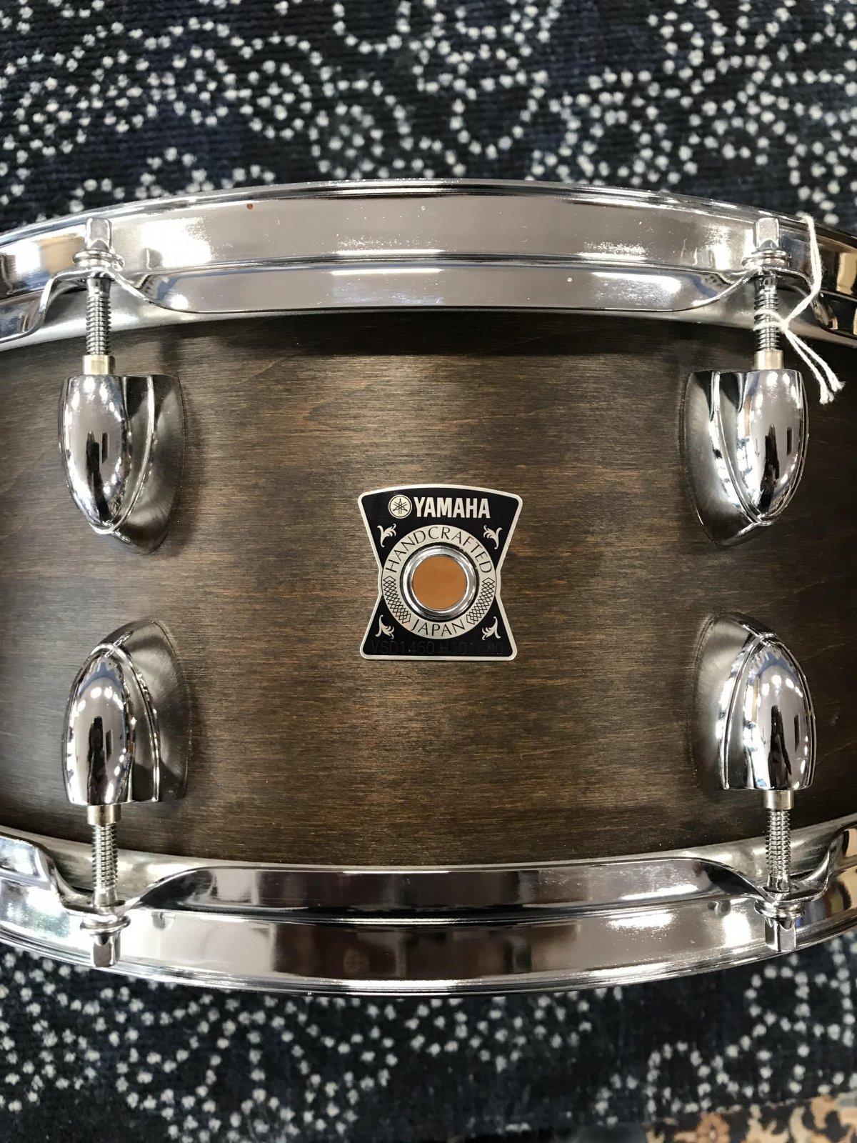 Yamaha Vintage Series Snare Drum 14x6 Vintage Black