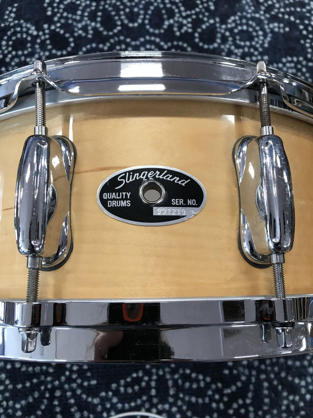 Used Slingerland 2ply Maple Snare