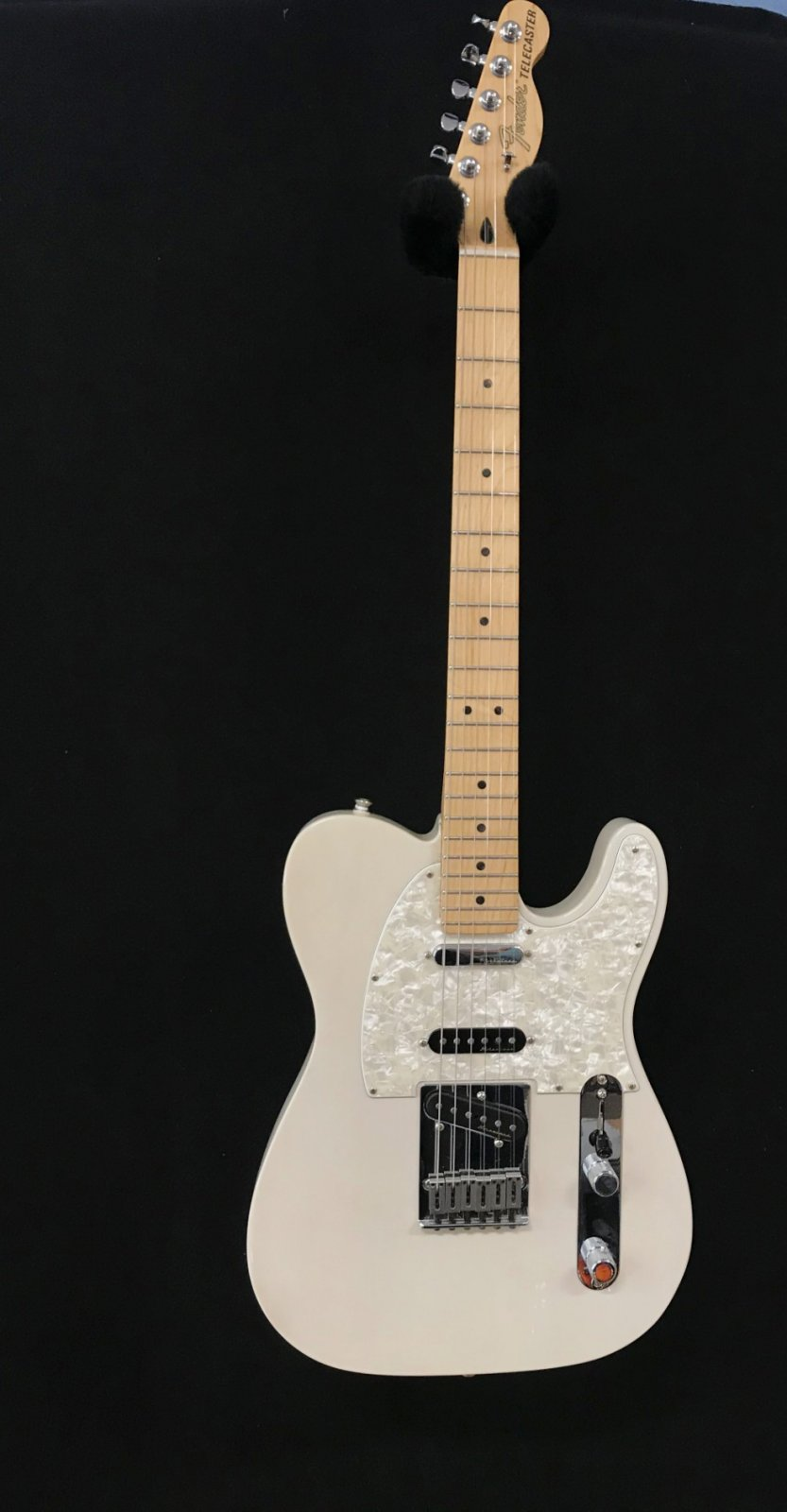 Used Fender Nashville Telecaster with Noiseless pickup and locking tuners