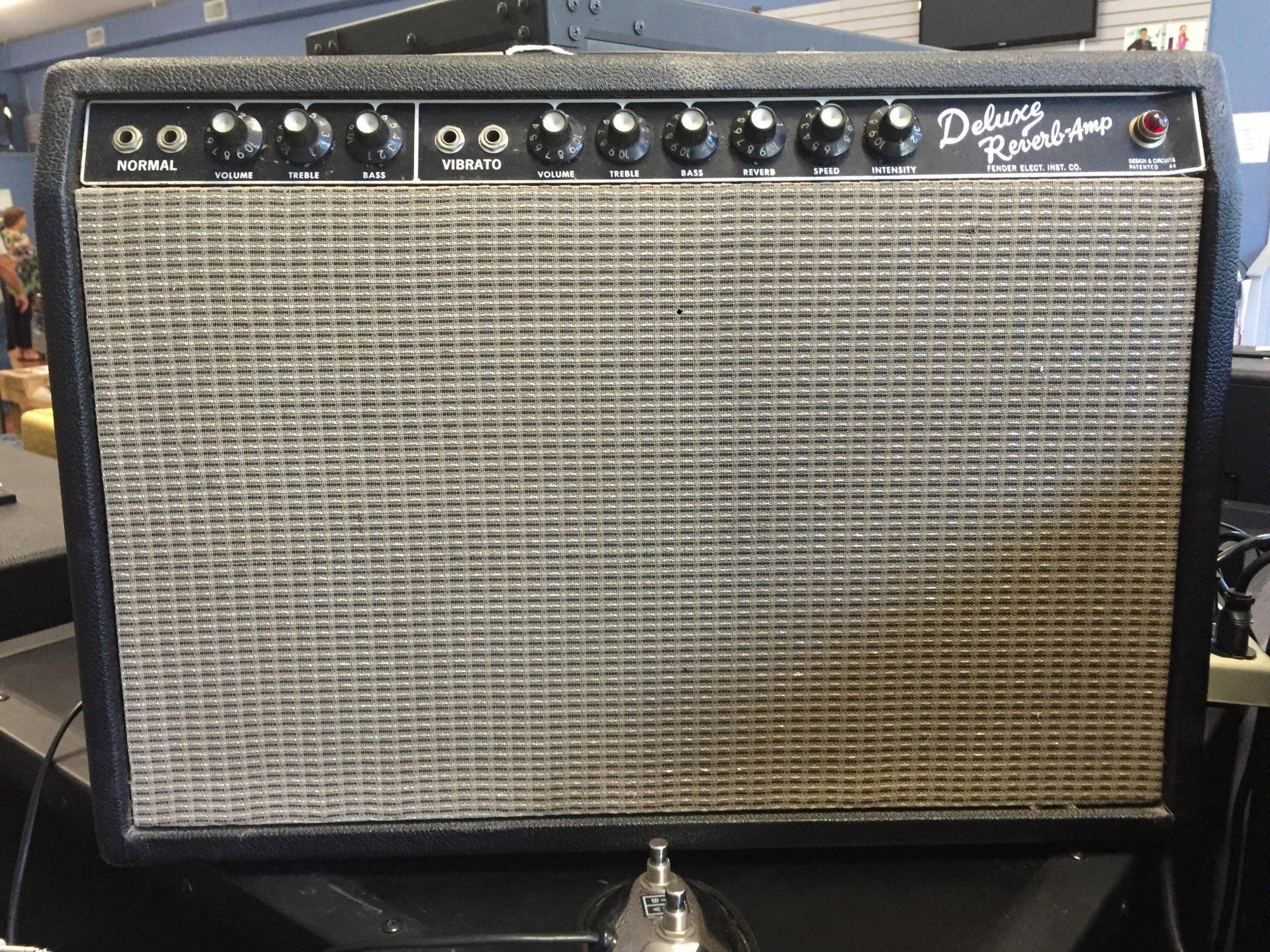 Vintage Fender Deluxe Reverb 1964