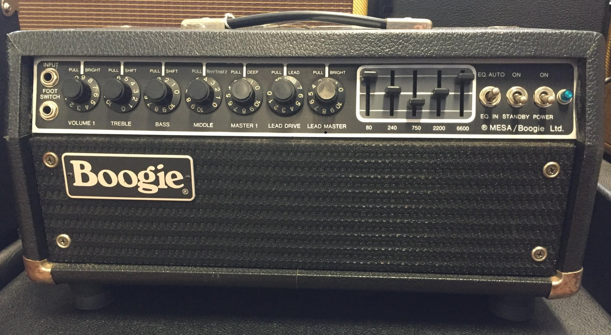 Used Mesa Boogie Mark III head with graphic EQ