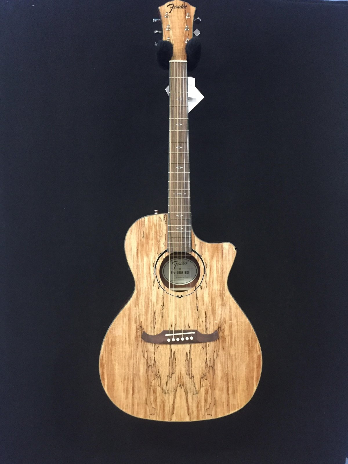 Fender FA-345CE Spalted Maple