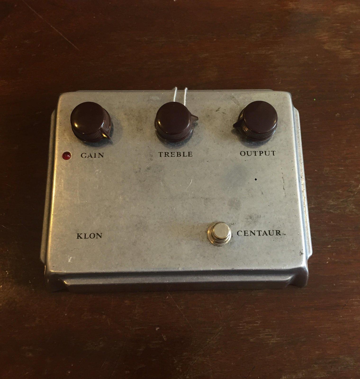 Klon Centaur Silver