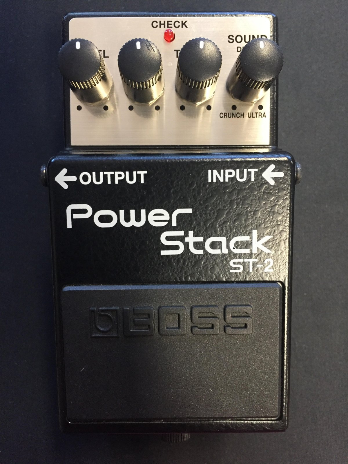 The Boss ST-2 Power Stack