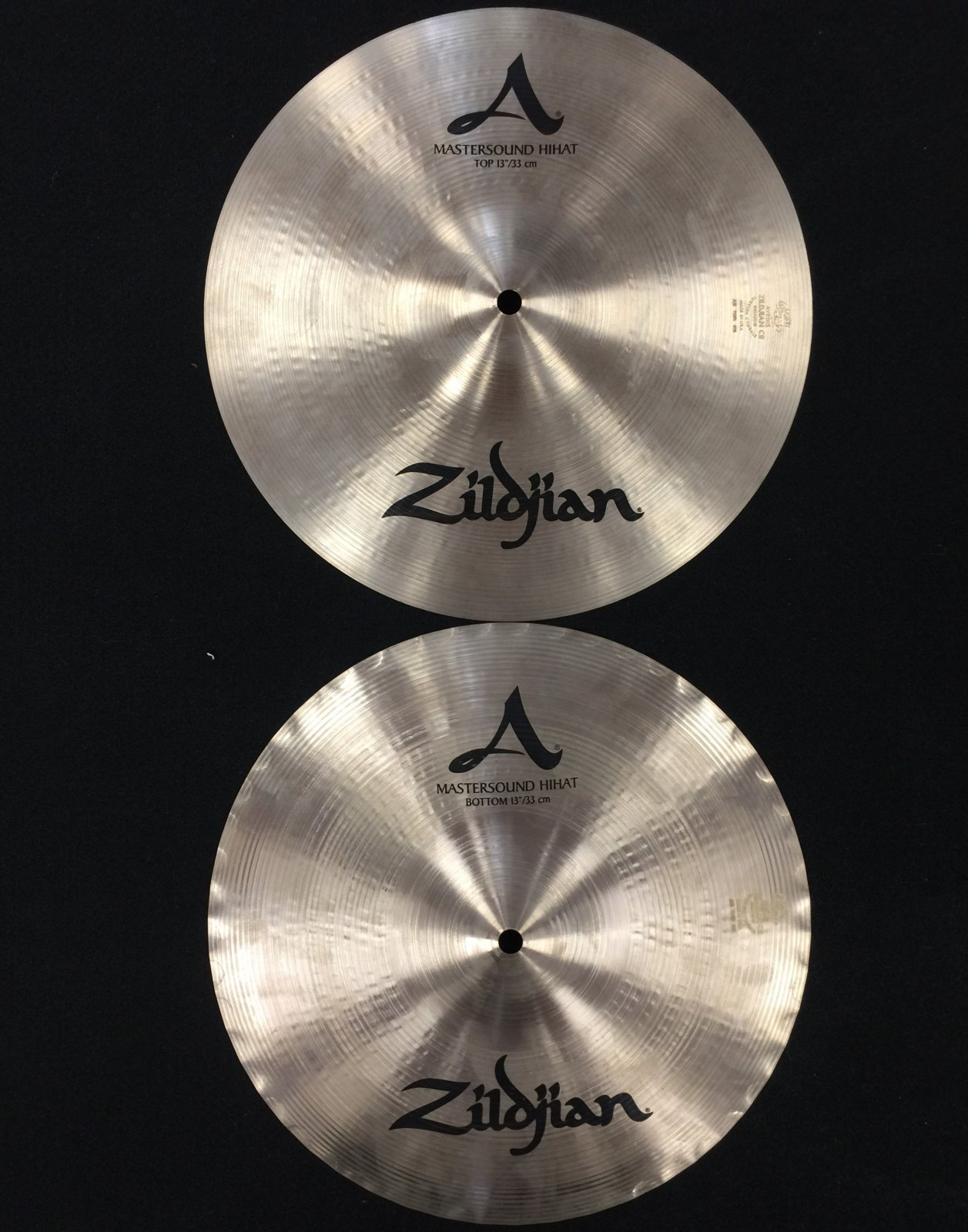 13 Zildjian A Mastersound Hi Hats