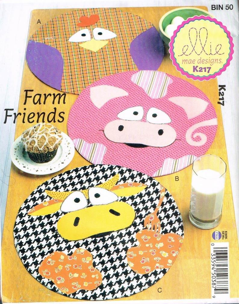 FARM FRIENDS PATTERNS