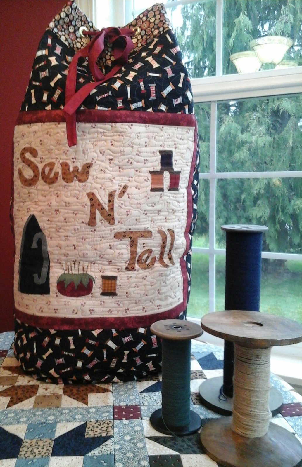 SEW N TELL BAG PATTERN