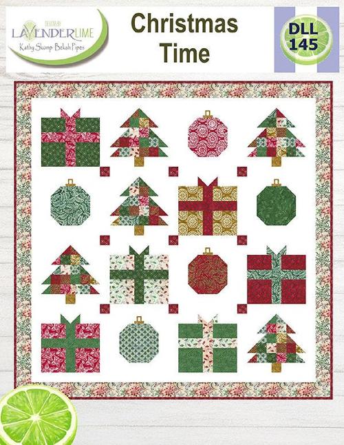 Christmas Time Batik Quilt KIT