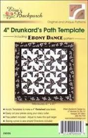 Drunkard's Path Template (4)