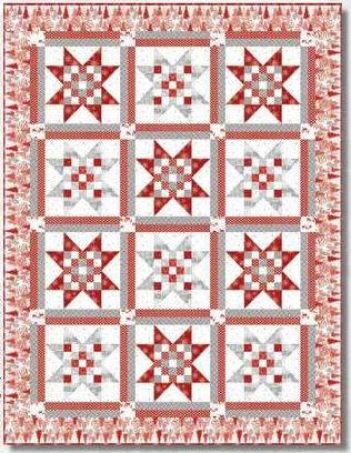 Holiday Lane Quilt 2 Kit