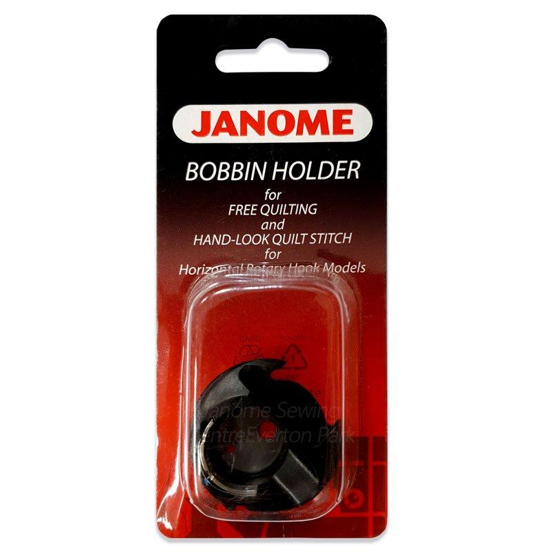 Janome Blue Dot Bobbin, for Free Motion