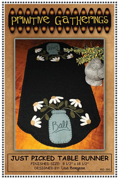 Just Picked Table Runner