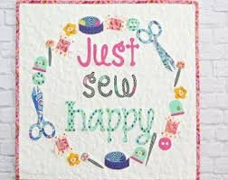 Just Sew Happy (Laser Cut)