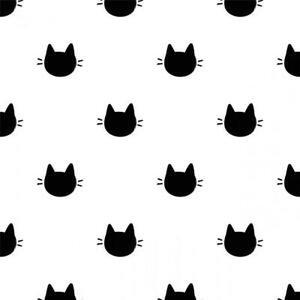 Meow - Kitty Dots (White)
