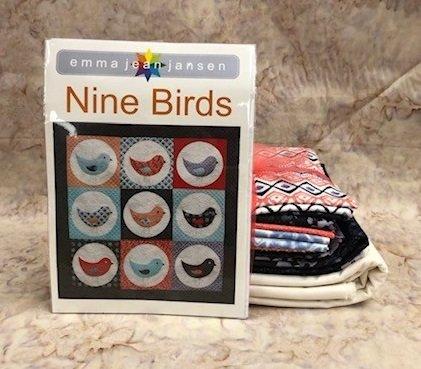 Nine Birds Quilt Kit