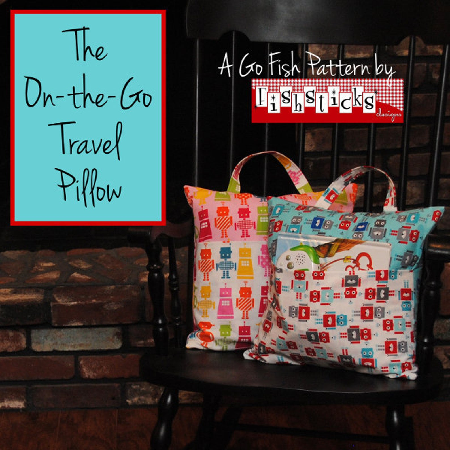 On the Road Travel Pillow Kit