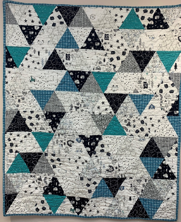 60 Degree Triangle Baby Quilt KIT