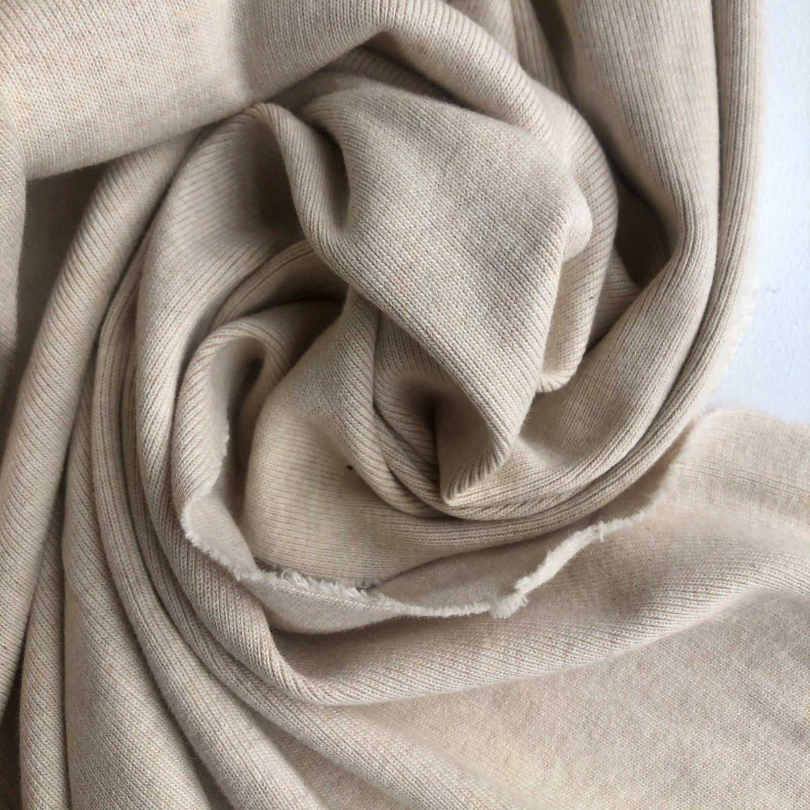 1/4 Yard Cut -- Oeko Tex Certified Cotton Ribbing 12 oz