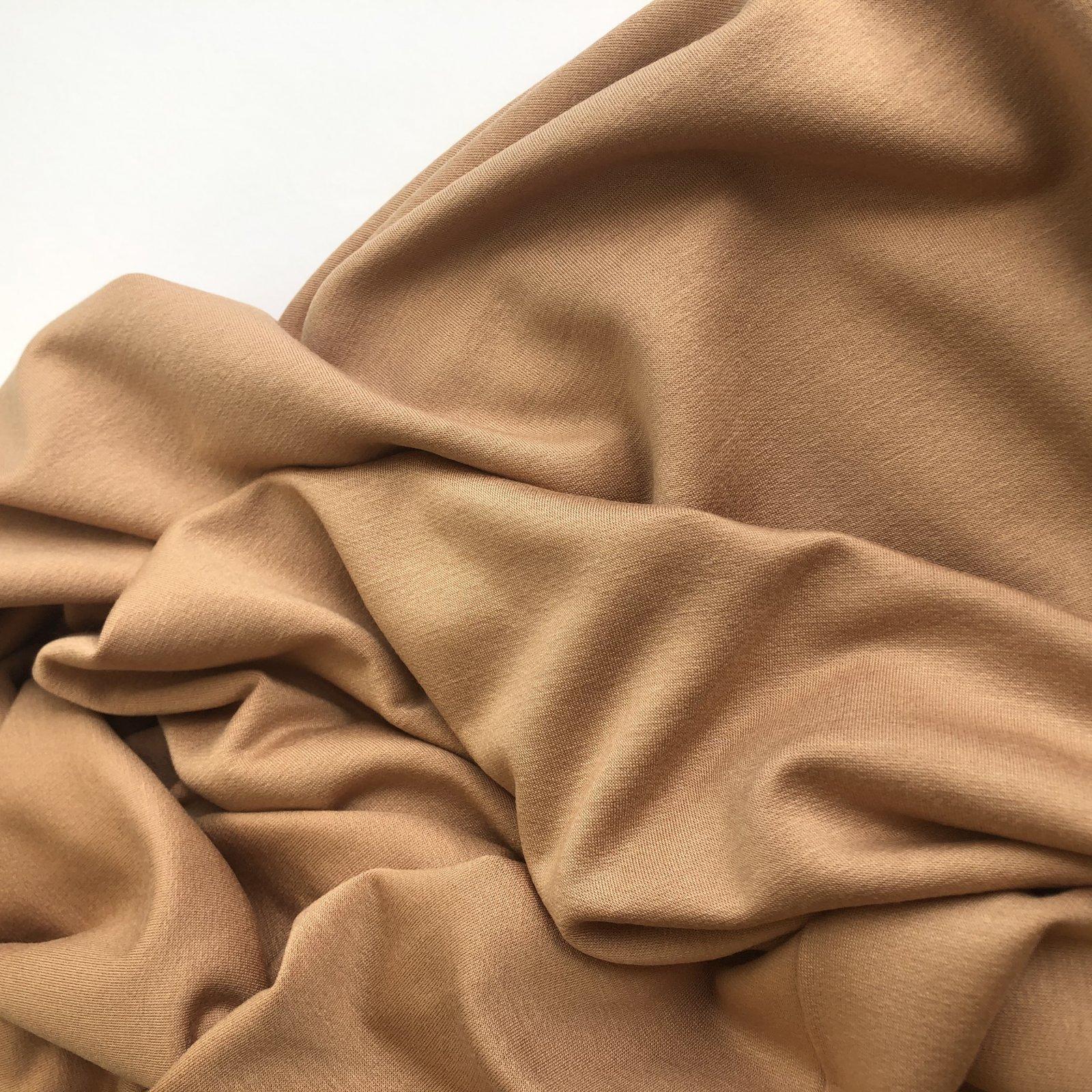 Rayon/Lycra 10 Oz Sweatshirt Fleece - Fawn