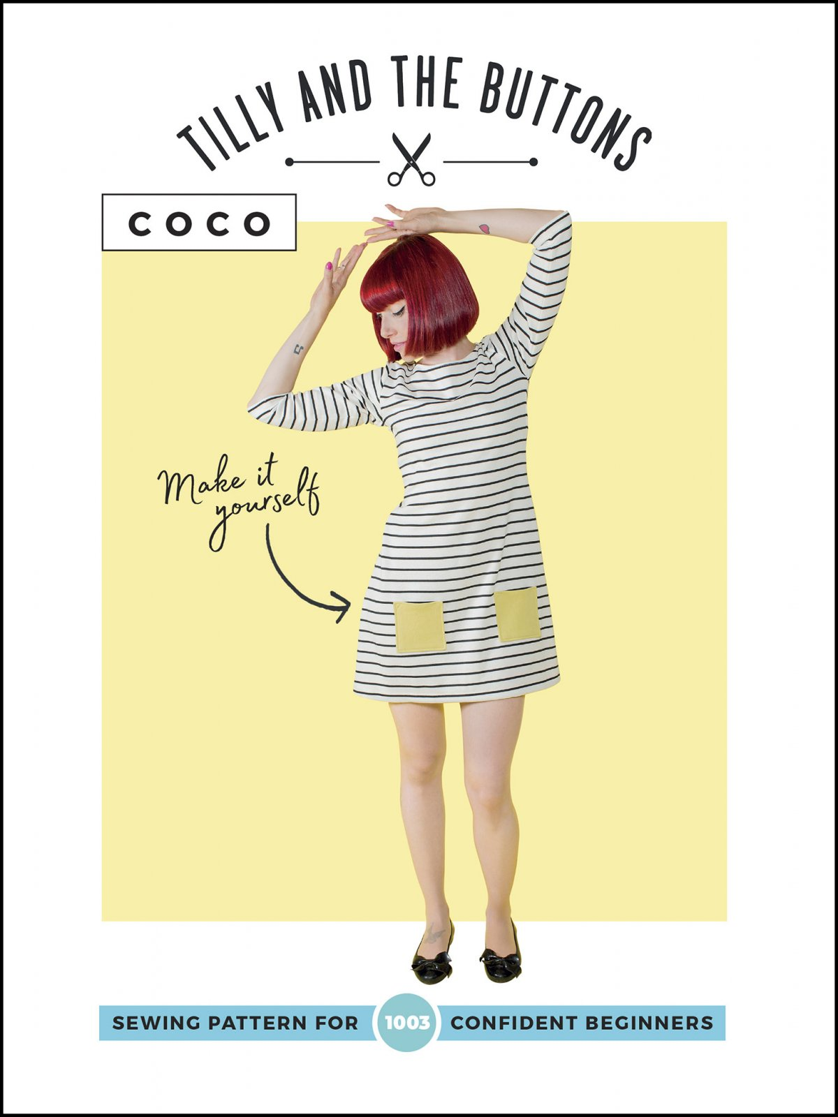 Tilly and the Buttons Coco Dress and Top Sewing Pattern