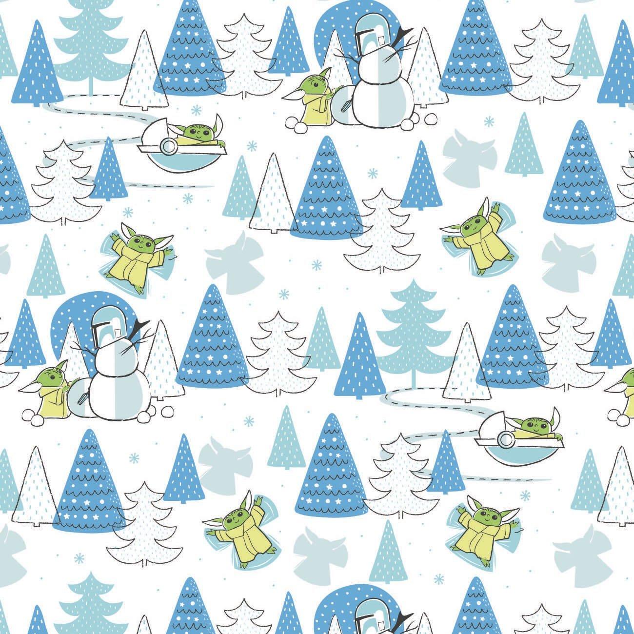 Star Wars Child Snow Day Cotton