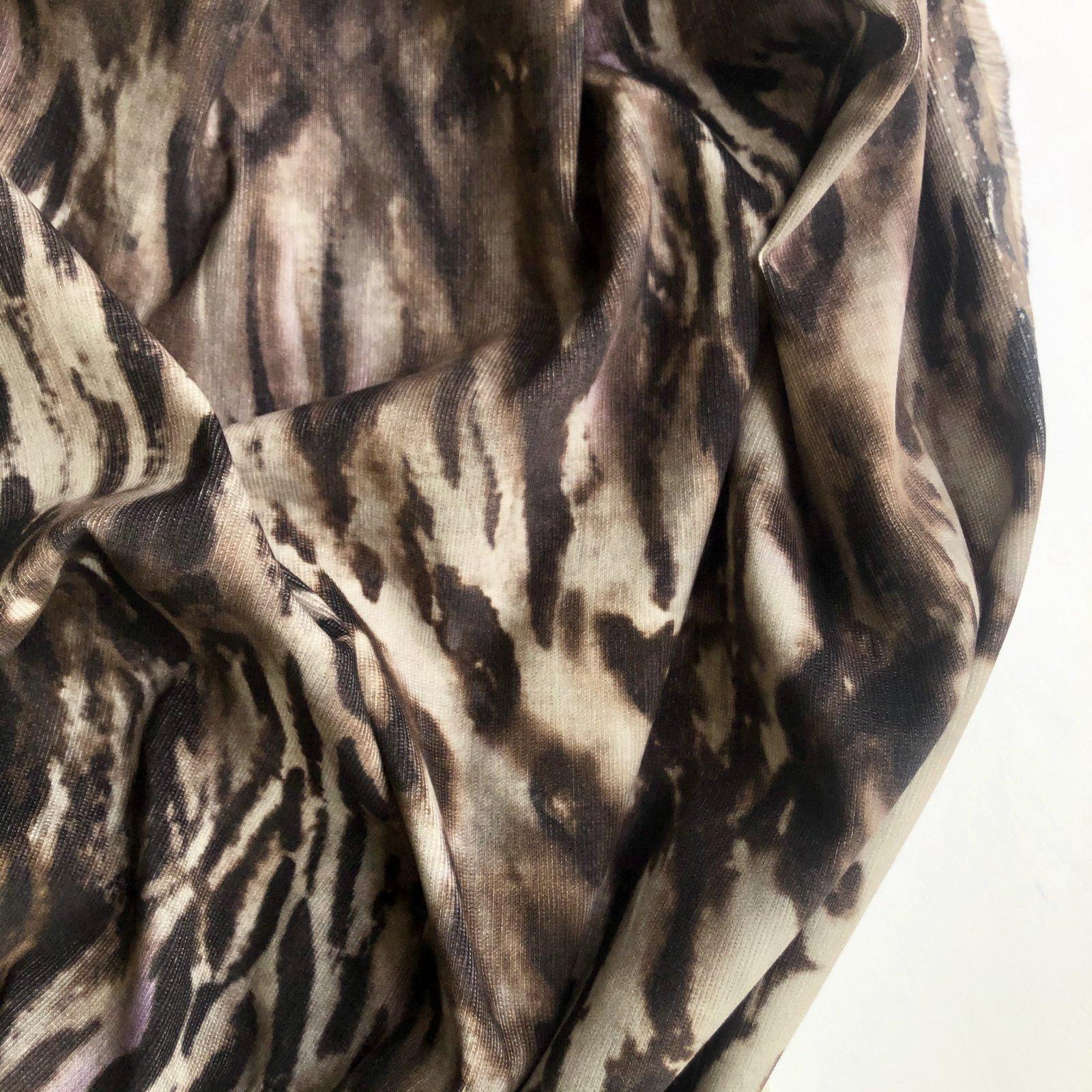Designer Deadstock Grey Tabby Fine Cotton Corduroy 56