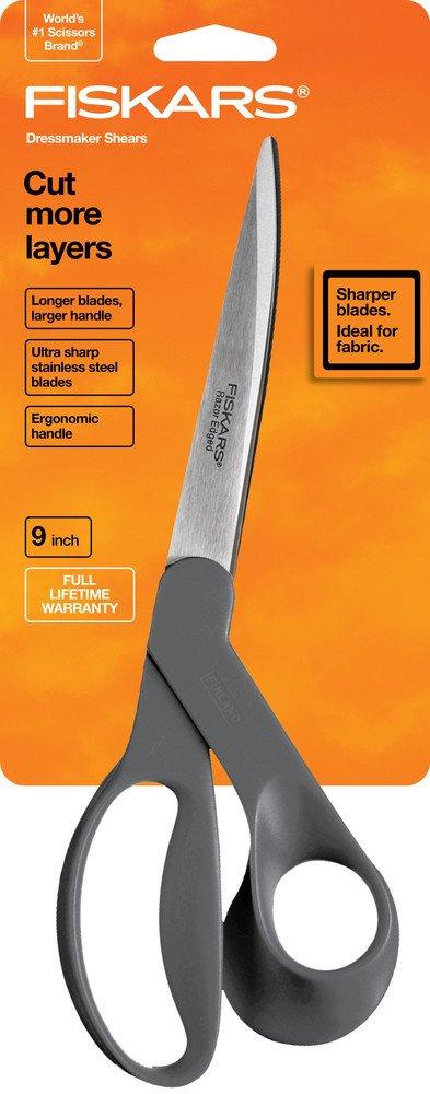 Fiskars 9 Razor Edge Dressmaker Scissors