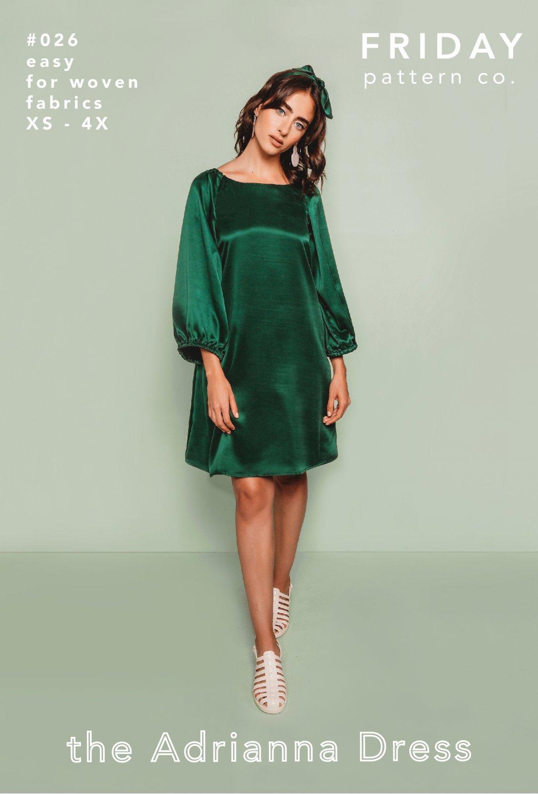 Friday Pattern Co Adrianna Dress Pattern