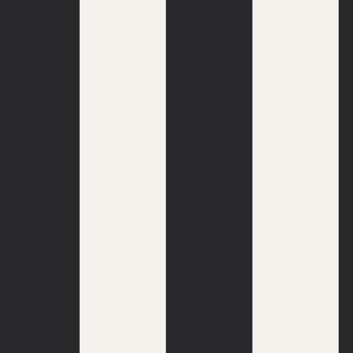 Art Gallery Fabrics Cotton Stretch Jersey - Striped Noir
