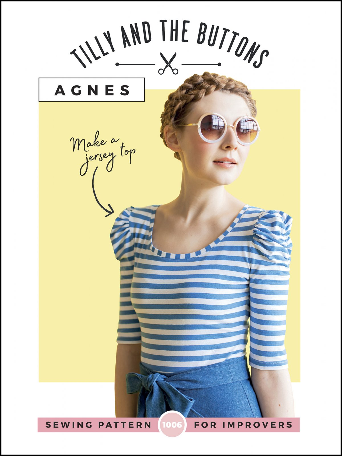 Tilly and the Buttons Agnes Knit Top Pattern