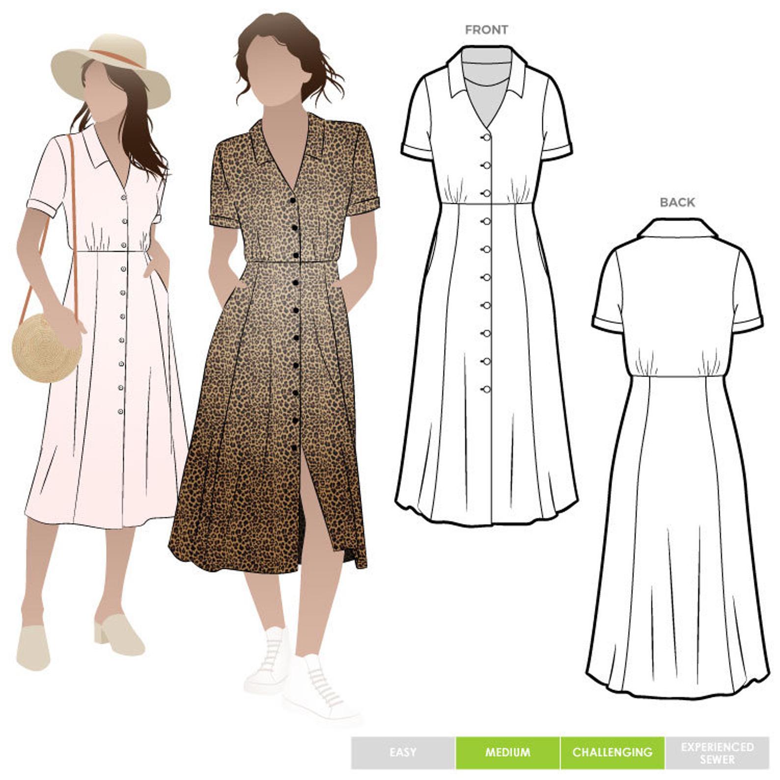 Style Arc Armidale Dress - Sizes 18-30