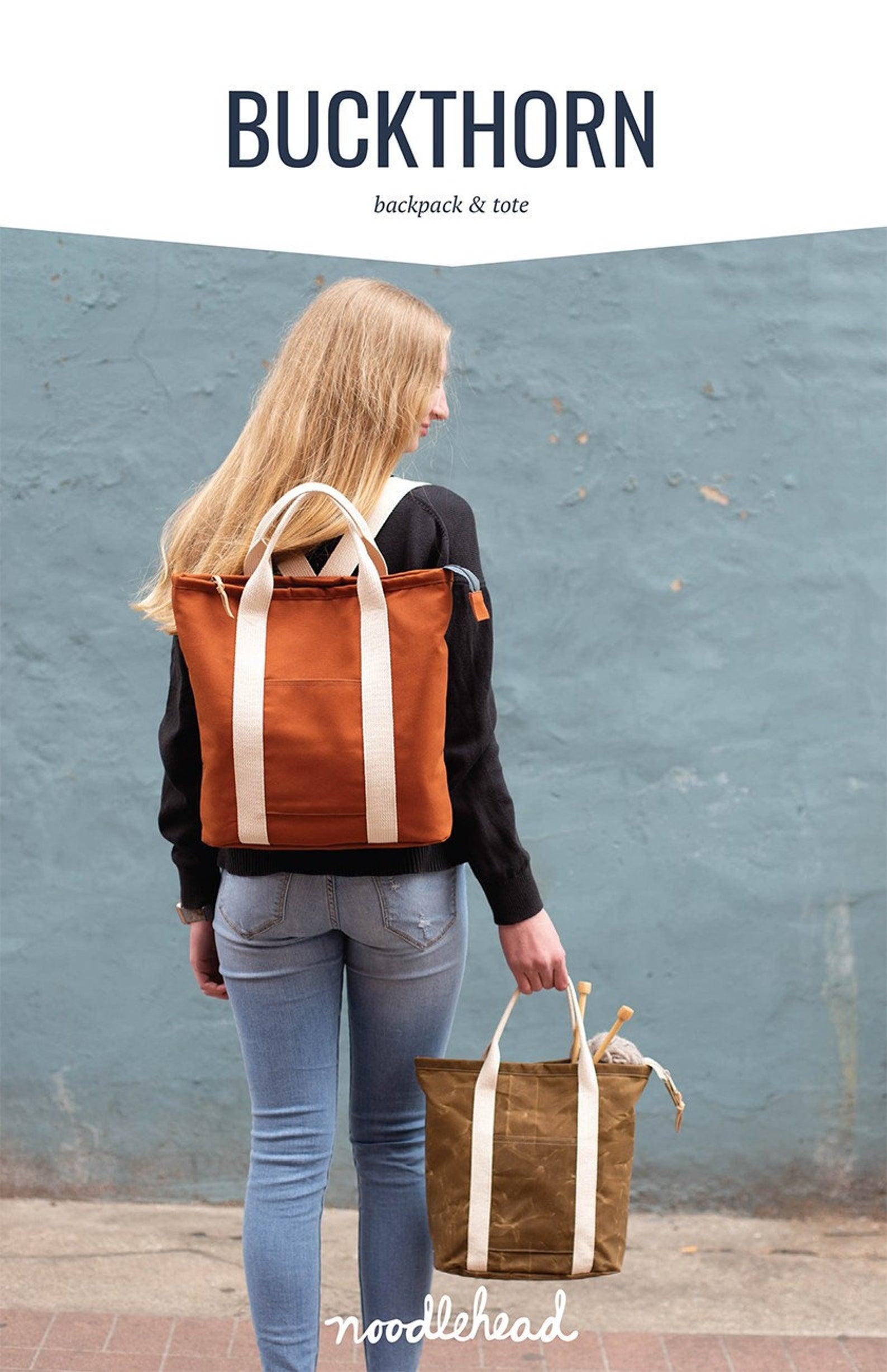 Noodlehead Buckthorn Backpack & Tote Pattern