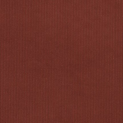 Remnant  - 14 Wale Corduroy - Rust 57 - 100% Cotton - 1 yard