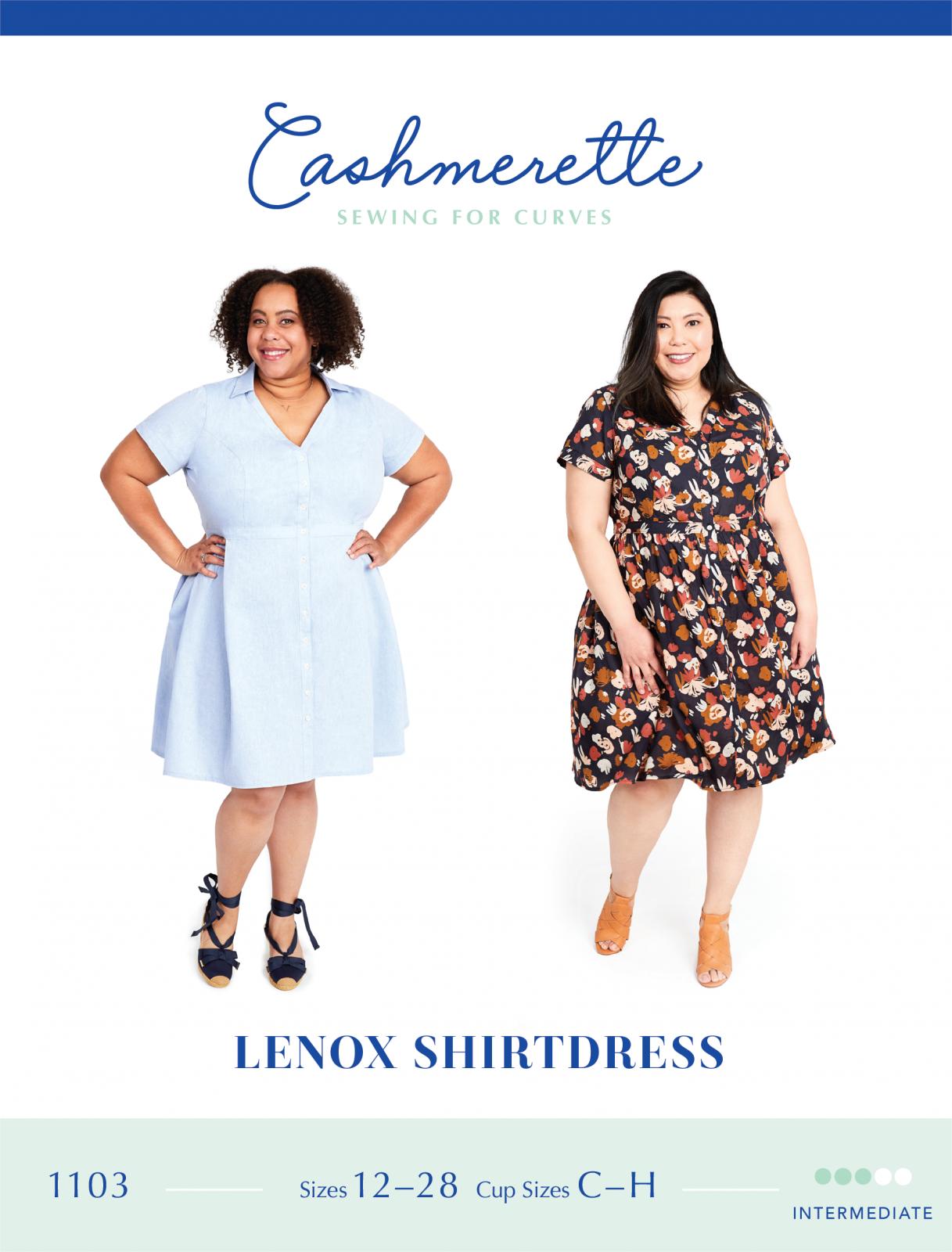 Cashmerette Lenox Shirtdress Pattern
